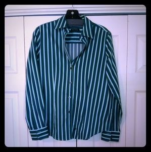 The Limited Long Sleeve Striped Shirt